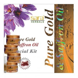 Buy Sara Saffron Facial Kit - Nykaa