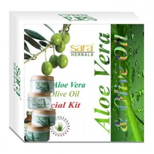 Buy Sara Aloe Vera Facial Kit - Nykaa