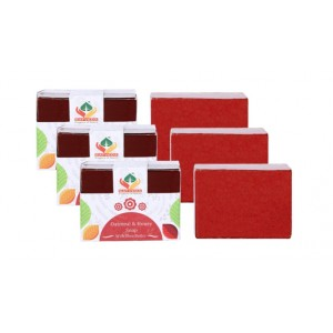 Buy Herbal Satveda Oatmeal & Honey Soap Pack Of 3 - Nykaa