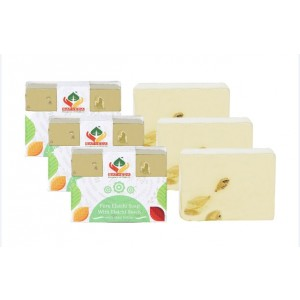 Buy Herbal Satveda Pure Elaichi Soap With Elaichi Beads Pack Of 3  - Nykaa