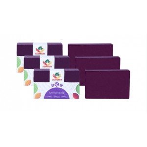 Buy Herbal Satveda Lavender Soap Pack Of 3 - Nykaa