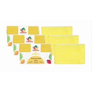 Buy Herbal Satveda Haldi Chandan Soap Pack Of 3 - Nykaa