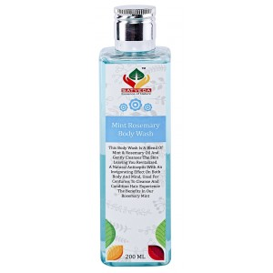 Buy Satveda Mint Rosemary Body Wash - Nykaa