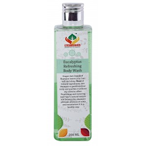 Buy Herbal Satveda Eucalyptus Refreshing Body Wash - Nykaa