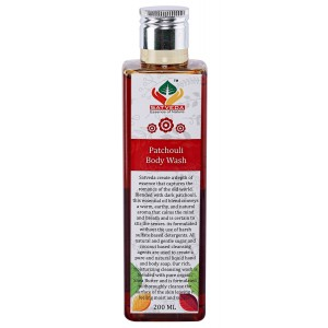 Buy Herbal Satveda Patchouli Body Wash - Nykaa