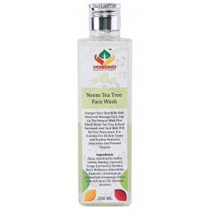 Buy Satveda Neem Tea Tree Face Wash - Nykaa