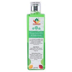 Buy Satveda Neem Tulsi Face & Body Wash - Nykaa