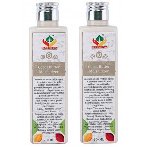Buy Satveda Cocoa Butter Moisturiser - Pack Of 2 - Nykaa