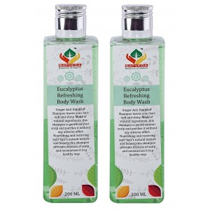 Buy Satveda Eucalyptus Refreshing Body Wash - Pack Of 2 - Nykaa