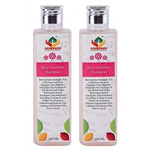 Buy Satveda Rose & Jasmine Shampoo - Pack Of 2 - Nykaa