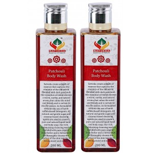Buy Satveda Patchouli Body Wash - Pack Of 2 - Nykaa