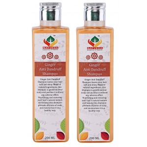 Buy Satveda Ginger Anti Dandruff Shampoo - Pack Of 2 - Nykaa
