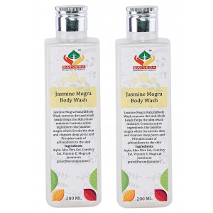 Buy Satveda Jasmine Mogra Body Wash - Pack Of 2 - Nykaa