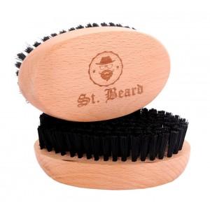 Buy Saint Beard Brush Nylon Bristle - Nykaa