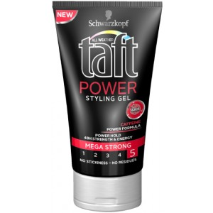 Buy Schwarzkopf Taft All Weather Power Styling Gel Mega Strong - Nykaa