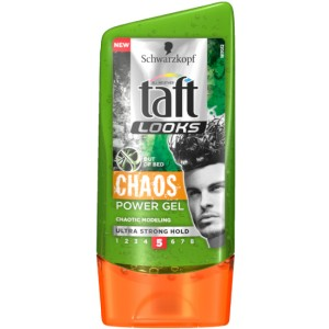 Buy Schwarzkopf Taft All Weather Looks Chaos Power Gel Ultra Strong Hold - Nykaa