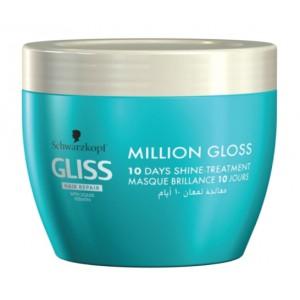 Buy Schwarzkopf Gliss Hair Repair with Liquid Keratin Million Gloss 10 Days Shine Treatment - Nykaa
