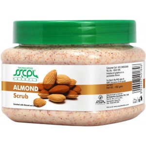 Buy SSCPL Herbals Almond Scrub - Nykaa