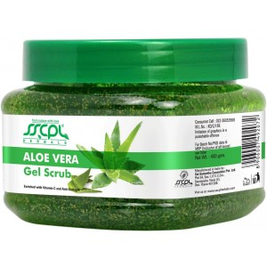 Buy SSCPL Herbals Aloevera Gel Scrub - Nykaa