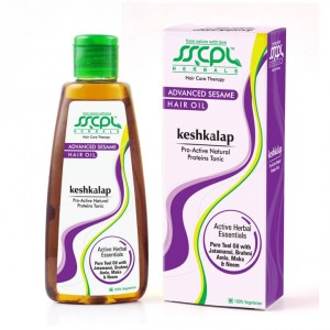 Buy SSCPL Herbals Keshkalap Advanced Sesame Hair Oil - Nykaa