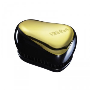 Buy Tangle Teezer Compact Styler Detangling Brush-Gold/Black - Nykaa