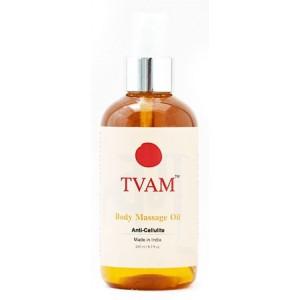 Buy Herbal TVAM Anti-Cellulite Massage Oil - Nykaa
