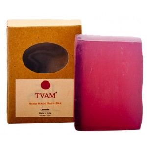 Buy TVAM Lavender Handmade Bath Bar - Nykaa