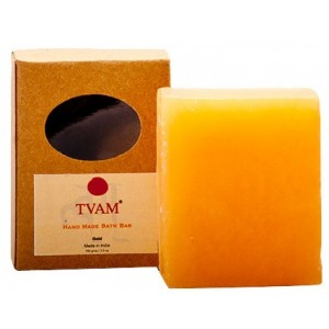 Buy TVAM Gold Handmade Bath Bar - Nykaa