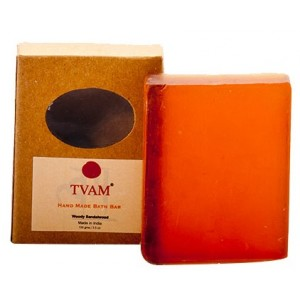 Buy TVAM Woody Sandalwood Handmade Bath Bar - Nykaa