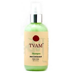 Buy Herbal TVAM Neem Anti-Dandruff Shampoo - Nykaa