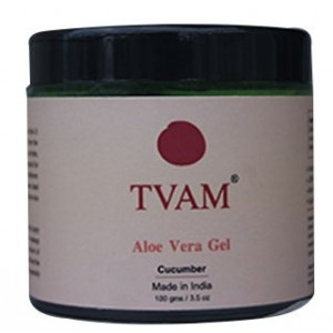 Buy Herbal TVAM Aloe Vera Gel Cucumber  - Nykaa