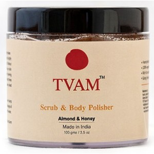 Buy TVAM Scrub & Body Polisher Almond & Honey - Nykaa