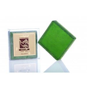Buy Vrikshali Glycerine Soap - Lemon Lime - Nykaa