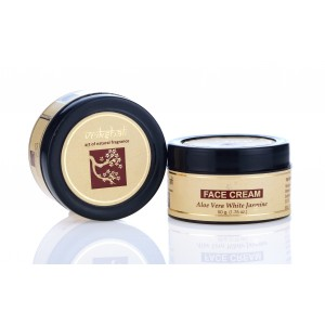Buy Herbal Vrikshali Aloevera Jasmine Face Cream - 50gm - Nykaa