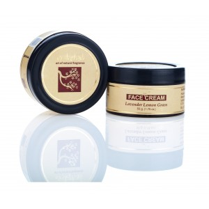 Buy Vrikshali Lavender Lemongrass Face Cream - 50gm - Nykaa
