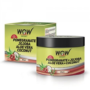 Buy Wow Sweat Pomegranate, Jojoba, Aloe Vera, Coconut - 300Gm - Nykaa