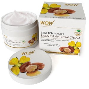 Buy WOW Stretch Marks and Scars Lightening Cream - Nykaa