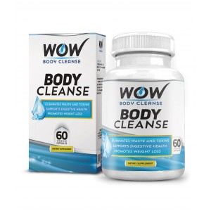 Buy Wow Body Cleanse (60 Capsules) - Nykaa