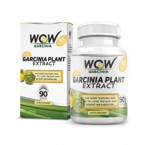 Buy Wow Garcinia Plant Extract Cambogia (90 Capsules) - Nykaa
