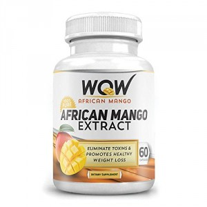 Buy Wow African Mango Extract (60 Capsules) - Nykaa