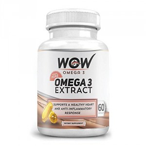 Buy Wow Omega-3 Extract (60 Capsule) - Nykaa