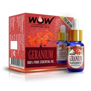 Buy Wow Essential Geranium Oil - 15 Ml - Nykaa