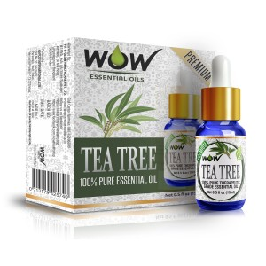 Buy Wow Essential Tea Tree Oil - 15 ml - Nykaa