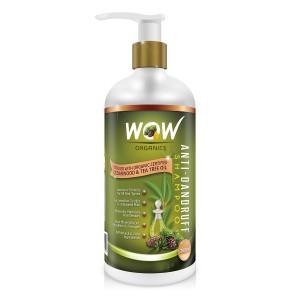 Buy Wow Organics Anti Dandruff Shampoo - Nykaa