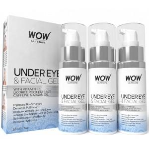 Buy Wow Ultimate Under Eye & Facial Gel - Pack Of 3 - Nykaa