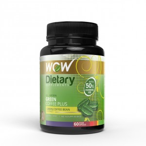 Buy WOW Green Coffee Plus Capsule - Nykaa