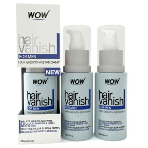 Buy Wow Hair Vanish For Men Hair Retardant Application Just 4-6 Week 100ml X 3 - Nykaa