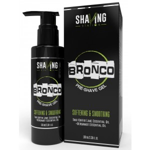 Buy Shaving Station Bronco Pre Shave Gel - Nykaa