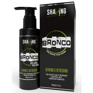 Buy Shaving Station Bronco Pre Shave Face Wash - Nykaa