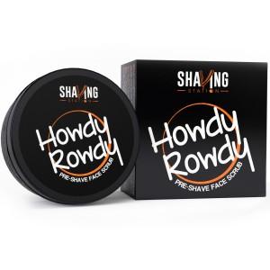 Buy Shaving Station Howdy Rowdy Pre Shave Scrub - Nykaa